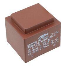 0-12V 0-12V 1VA 230V Trasformatore incapsulato PCB