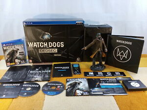 Watch Dogs Dedsec Edition PS4 / Playstation 4 USK18 !! Sehr Guter Zustand !!