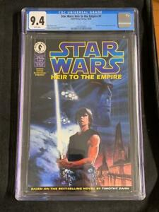 STAR WARS HEIR TO THE EMPIRE #1 (1995) 1st GRAND ADMIRAL THRAWN, CGC 9.4