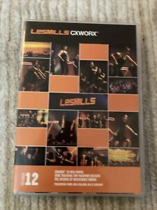 Les Mills CXWORX 12 DVD, CD, & NOTES!