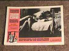 THIS SPORTING LIFE 1963 LOBBY CARD #3
