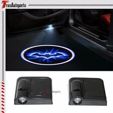 2PCS Wireless Car Door Led Laser Projector Logo Ghost Shadow Light Batman