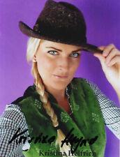 Autogramm - Kristina Helfrich (Chiemgauer Volkstheater)