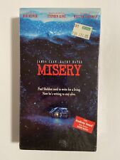 Misery Kathy Bates 1991 VHS Brand New (Factory Sealed)