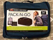 High Sierra PACK-N-GO 36'' Duffle Bags - Blue Color