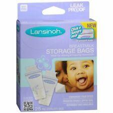 Lansinoh Breastmilk Freezer Storage Bags,25 Count