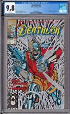 Deathlok #1 Cgc 9.8 White Pages Metallic Silver Ink Cover