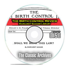 The Birth Control Review, Margaret Sanger Library, 243 Issues + Books PDF CD E50