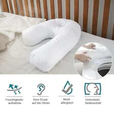 Side Sleeper U-Shaped Pillow Sleep Buddy Orthopaedic Back Neck Support Protect
