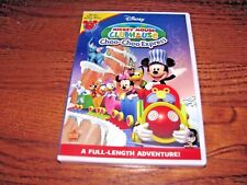 Mickey Mouse Clubhouse: Choo-Choo Express Disney DVD, 2009] New + I Ship Faster