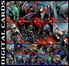 Topps Marvel Collect JAGGED 2020 [SET 24 CARDS RED/BLUE]