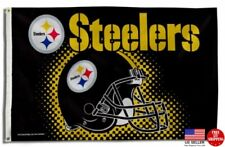 Steelers FLAG 3X5 Pittsburgh 3 x 5 Banner American Football New Fast USA Ship.