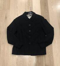 Mr & Mrs Macleod Black Blazer Angora Cashmere Wool Fr 42 Us M 10