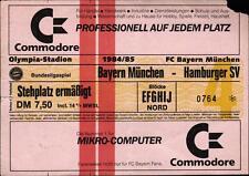 Ticket BL 84/85 FC Bayern München - Hamburger SV, Stehplatz ermäßigt