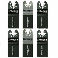 Integra® Tools 6Pc ECut Saw Blades fits CRAFTSMAN FEIN MULTIMASTER Oscillating