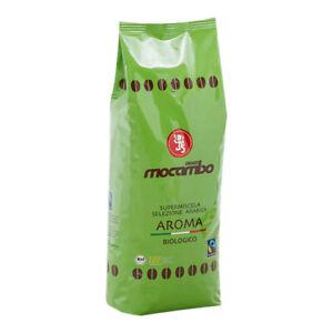 Mocambo Aroma Biologico Fairtrade Kaffee - 1000g ganze Bohnen - Casa Gourmet