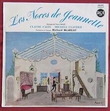 LES NOCES DE JEANNETTE  LP   ART COVER  PEYNET  VICTOR MASSE