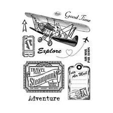 Viva Decor A5 Clear Silicone Stamps Set - Adventure #111