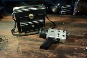 Eumig 881 Super 16 cine camera and case full working