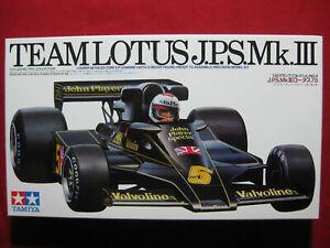 Team Lotus 78 J.P.S. Mk III Driver Figure 1/20 Tamiya Ford F1 Racing Andretti