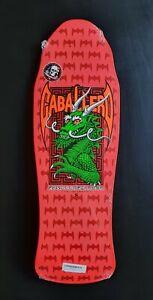 Powell Peralta Steve Caballero Skateboard Deck Pink New