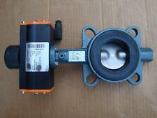 Ebro Armaturen DN65 butterfly valve + pneumatic actuator