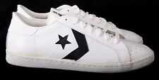 Converse All Star 1G8504 NEW Vtg White Athletic Fashion Sneakers Men's U.S. 11