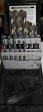 Lot of 10 Rodman Carbide HSS  Drills W/Case