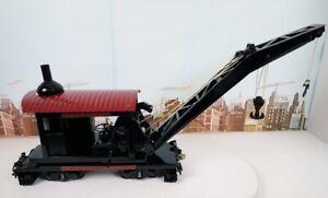 "T-Reproductions Buddy L Railroad Operating Wrecking Crane - 37"" Long"