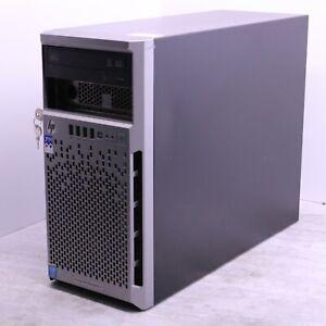 HP Ml310E Gen8 V2 Workstation Server Intel Xeon E3-1220 3.1Ghz 8GB 2.5TB HDD