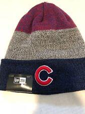 New Era NBA MLB Chicago Cubs Cuffed Beanie Knit Toque Hat NWT