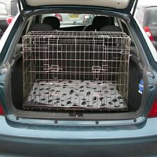 Pet World NEW VAUXHALL VECTRA 95-02 SLOPING CAR DOG CAGE BOOT TRAVEL PUPPY GUARD