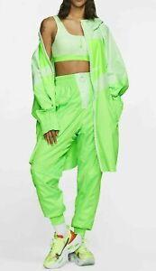 Nike Women Sportswear NSW Windrunner Full Zip Jacket Green One Size CT0870-376