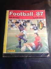 Panini - Football 87 - Complet 100% - Belgique - B13