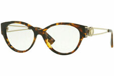 New Versace VE3254A  5148 54mm Eyeglass Frames Havana/Gold Fast Shipping