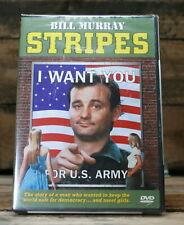 Stripes (DVD, 1998) Ivan Reitman Bill Murray Harold Ramis John Candy New Sealed