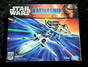 STAR WARS BATTLESHIP game ~ Disney Hasbro LucasFilm COMPLETE NICE!