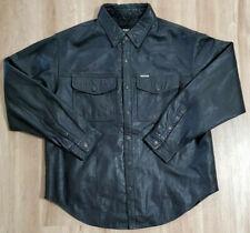 Harley Davidson Mens Jacket Size XL Leather Black