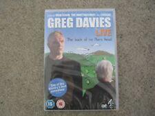 Greg Davies Live - The Back Of My Mum's Head (DVD, 2013)