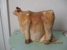 VINTAGE CERAMIC COW FIGURE