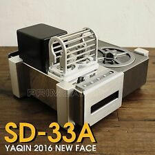 YAQIN SD-33A 2 x 6N8P Valve Vacuum Tube Hi-End Top Loading CD Player 110v-240V K