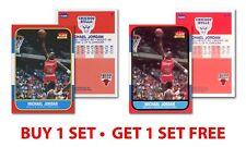 Set of 2 MICHAEL JORDAN 1996 Fleer ROOKIE Cards (Decade #4 & Ultra #U4) - BOGO