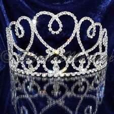 """Bijou de tête diadème Miss accessoire cheveux élection mariage cristal """"Livinia"""""""