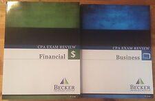 Lot of 2 CPA Exam Review Books V. 1.0 Business & Financial (paperback, 2013)