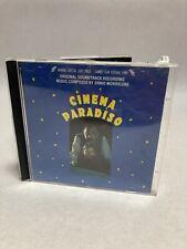 Ennio Morricone / Cinema Paradiso (Cd Used) Drg Records Cdsbl12598 (S1)