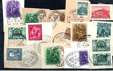 """Old stamps of Hungary """"VISSZATERT CANCELL collection 1938-1940 used"""