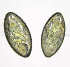 Mode-Ohrschmuck aus Glas mit Peridot-Hauptstein für Damen