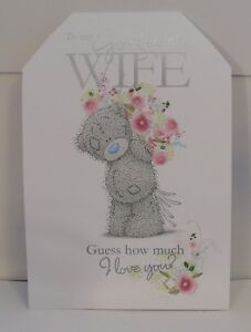 Me To You / Wishing Well Birthday Cards for Wife & Girlfriend including 3D Cards