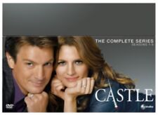 Castle Seasons 1 to 8 Complete Collection DVD NEW dvd (BUG0266901)