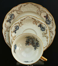Rosenthal Chippendale weiss Suppenteller Porzellan 1935-1945 mehrere